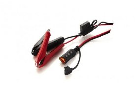 Konektor Komfort ISK s indikáciou stavu batérie – krokosvorky