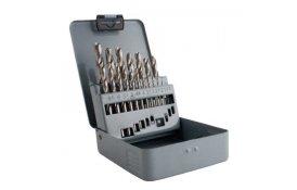 Sada vrtákov HSS-G (19ks/1,0-10,0mm)/plech