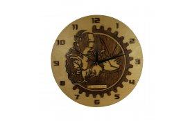 Nástenné hodiny zvárač