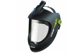 Kukla Optrel Clearmaxx PAPR e3000 brúsny štít s prípravou na odsávanie