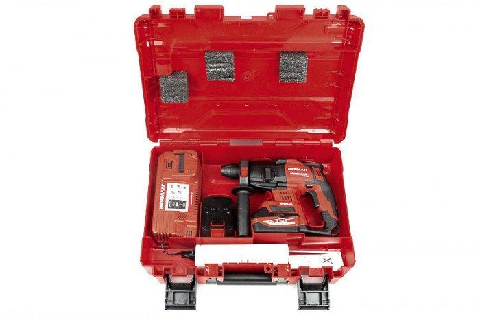AKU kombinované kladivo AXHD 1800, 18,0 V/5,0 Ah/BLDC